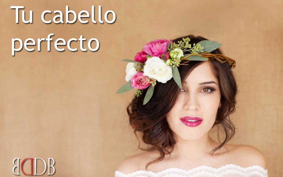 Your perfect hair on your perfect wedding