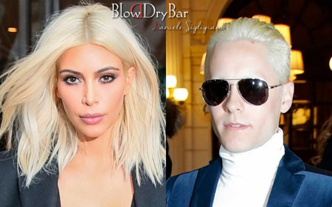Platinum blonde comes to stay
