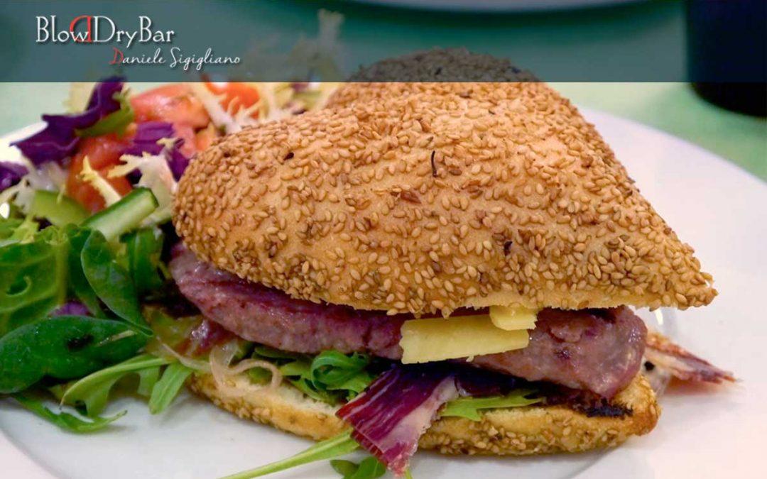 La hamburguesa más sana y ligera