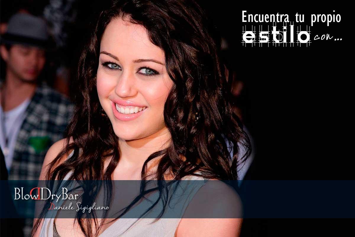 Miley Cyrus Blow Dry Bar Peluqueria Madrid