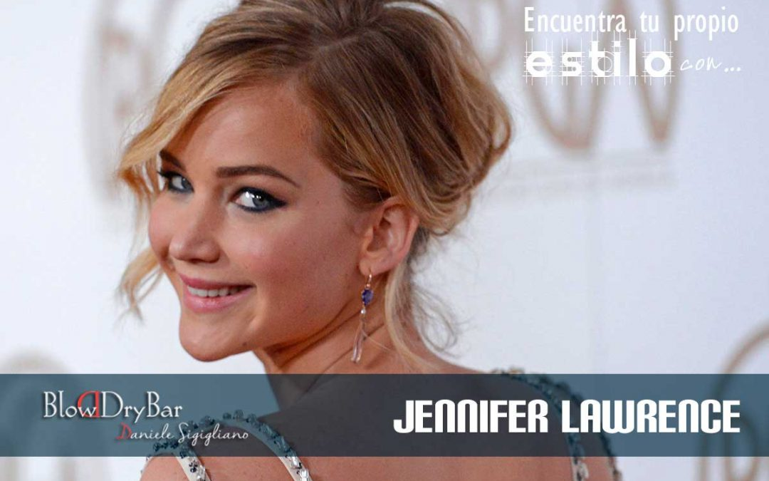Jennifer Lawrence Blow Dry Bar Peluqueria Madrid