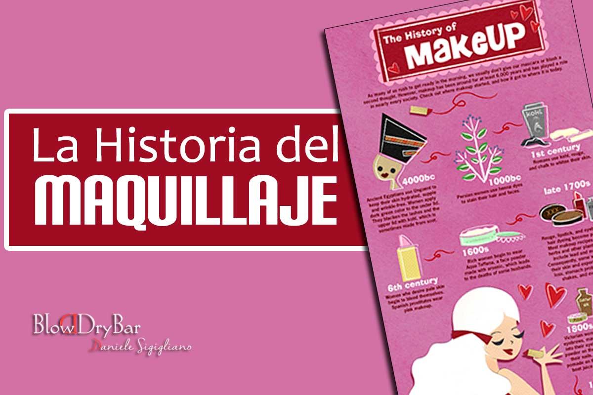 Historia del maquillaje Blow Dry Bar Peluqueria Madrid