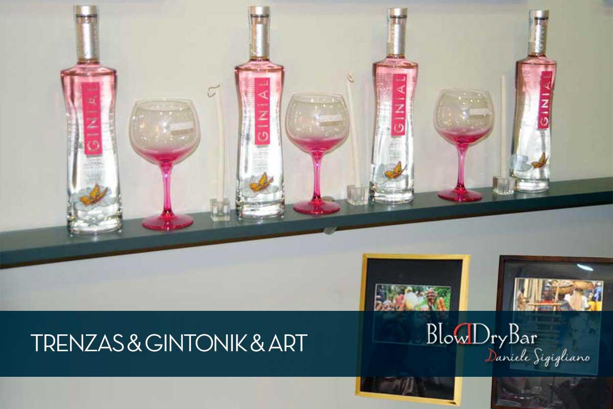 Trenzas & Gintonik & Art Blow Blow Dry Bar Peluqueria Madrid