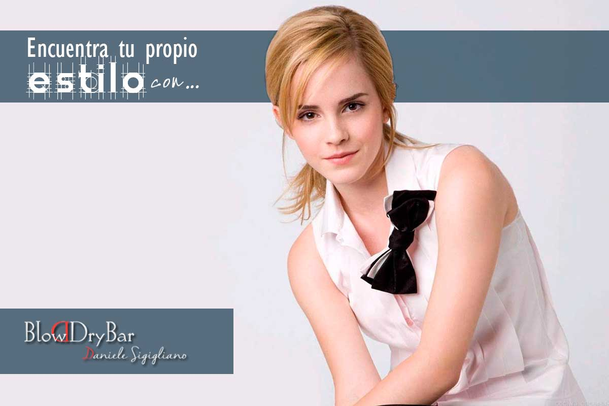 Emma Watson Blow Dry Bar Peluqueria Madrid