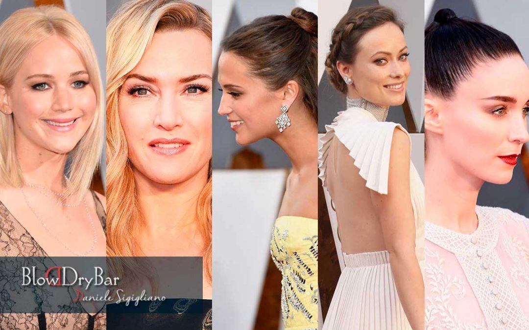 Los 5 peinados preferidos de los Oscar 2016