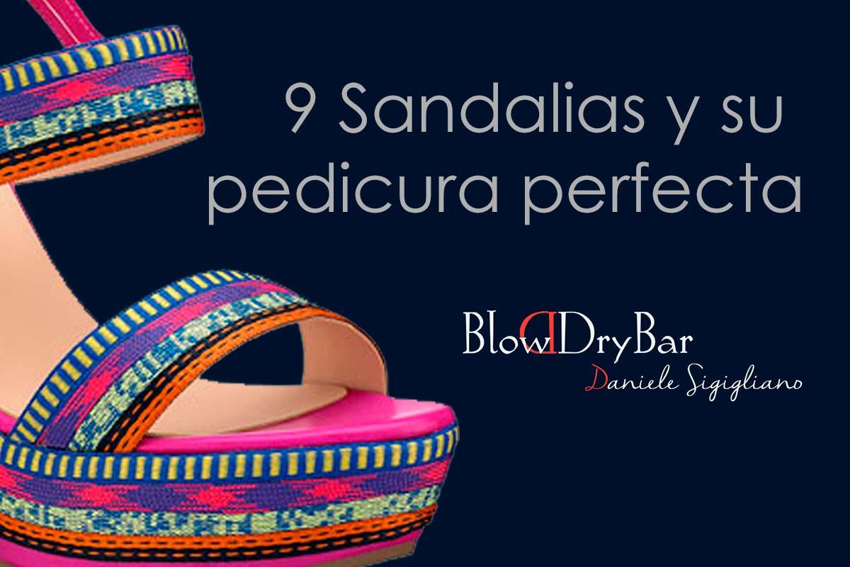 9 Sandalias y su pedicura perfecta