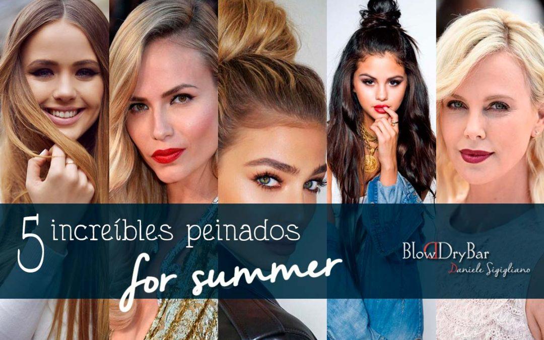 5 increíbles peinados for summer