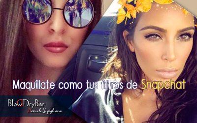 ¡Maquíllate como tus filtros favoritos de Snapchat!