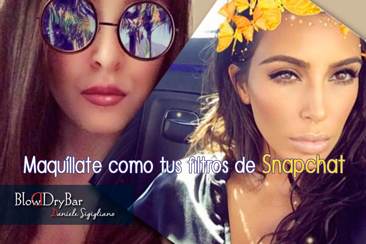 Maquillate como Snapchat
