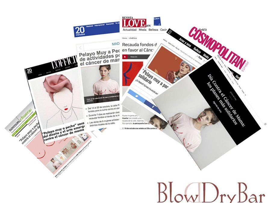 Blow Dry Bar Madrid apoya la lucha contra el cáncer de mama