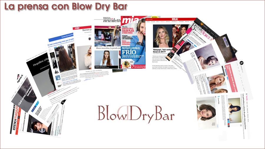 La prensa recomienda Blow Dry Bar Madrid