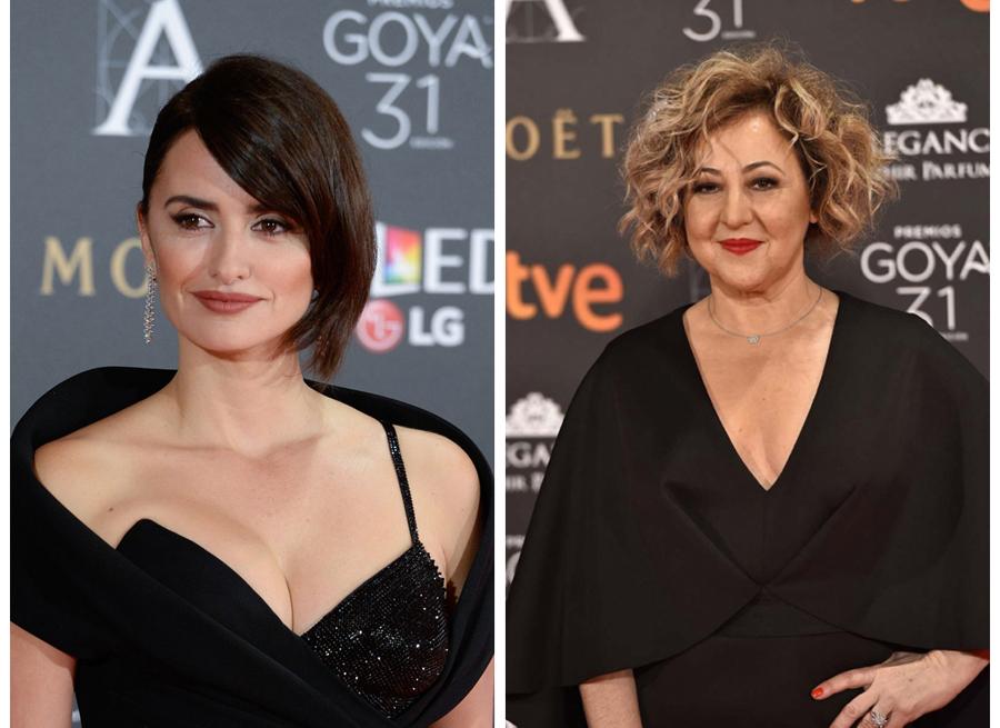 Los peinados más impactantes de los Premios Goya 2017